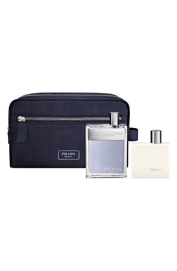Alternate Image 1 Selected - Prada 'Amber pour Homme' Gift Set ($125 Value)