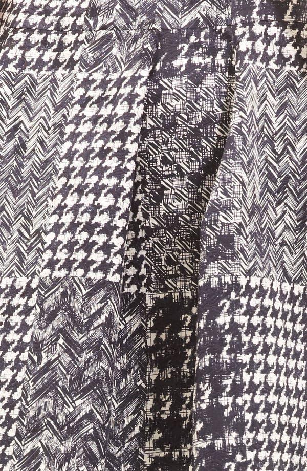 Alternate Image 3  - Oscar de la Renta Tweed & Matelassé Patchwork Skirt
