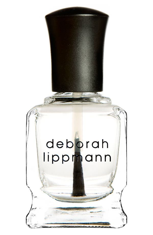 Alternate Image 1 Selected - Deborah Lippmann 'Umbrella Oxygen Raincoat' Top Coat