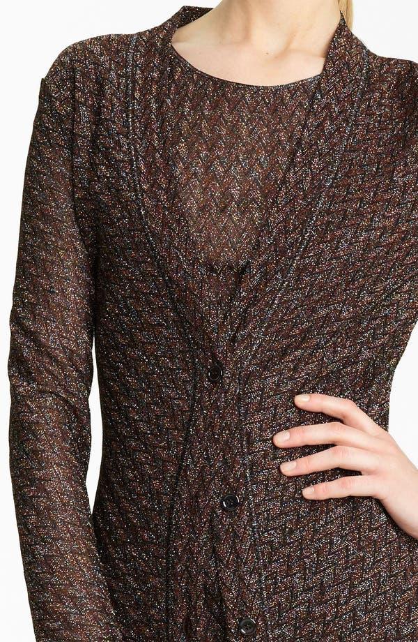 Alternate Image 3  - Missoni Long Metallic Knit Cardigan