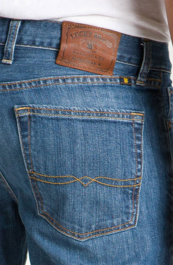 Alternate Image 4  - Lucky Brand '361 Vintage' Straight Leg Jeans (Rinse)