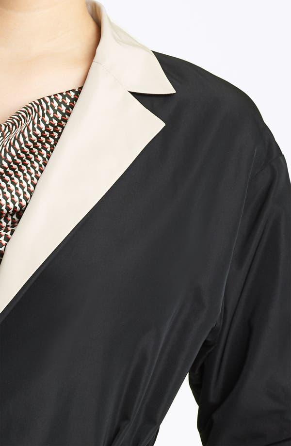 Alternate Image 3  - Lida Baday Belted Reversible Twill Jacket