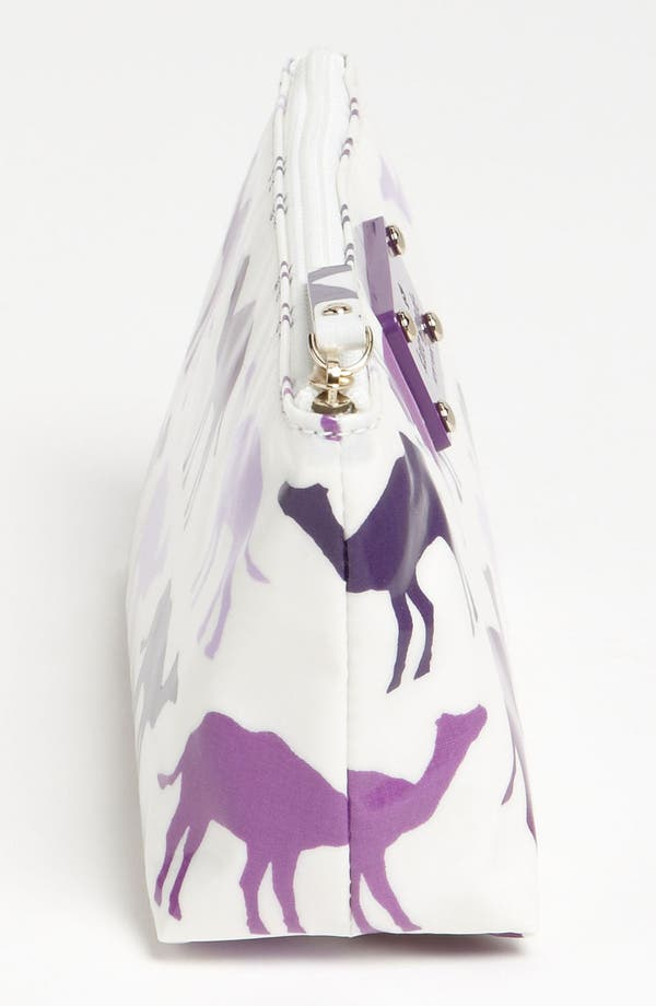 Alternate Image 2  - kate spade new york 'daycation - little shiloh' cosmetics pouch