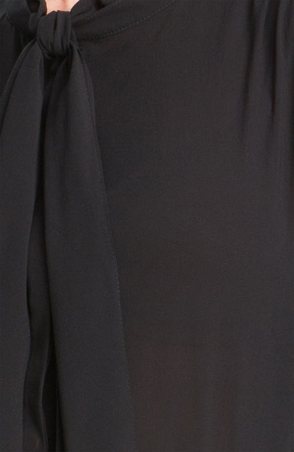 Alternate Image 3  - Derek Lam 10 Crosby Tie Neck Silk Blouse