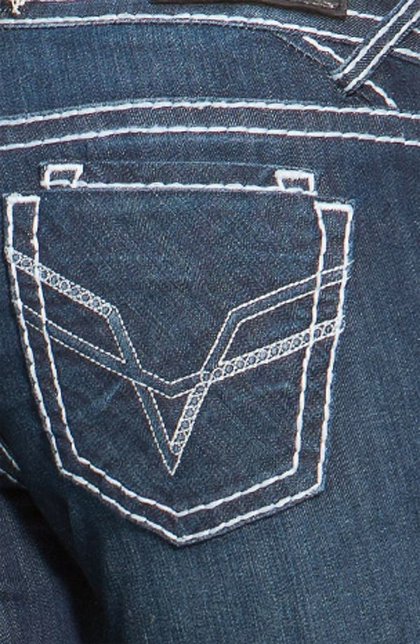 Alternate Image 3  - Vigoss Thick Stitch Bootcut Jeans  (Juniors)