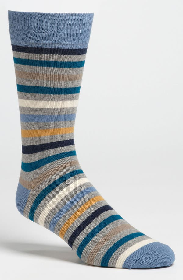 Alternate Image 1 Selected - Pact 'All Over Blues' Socks