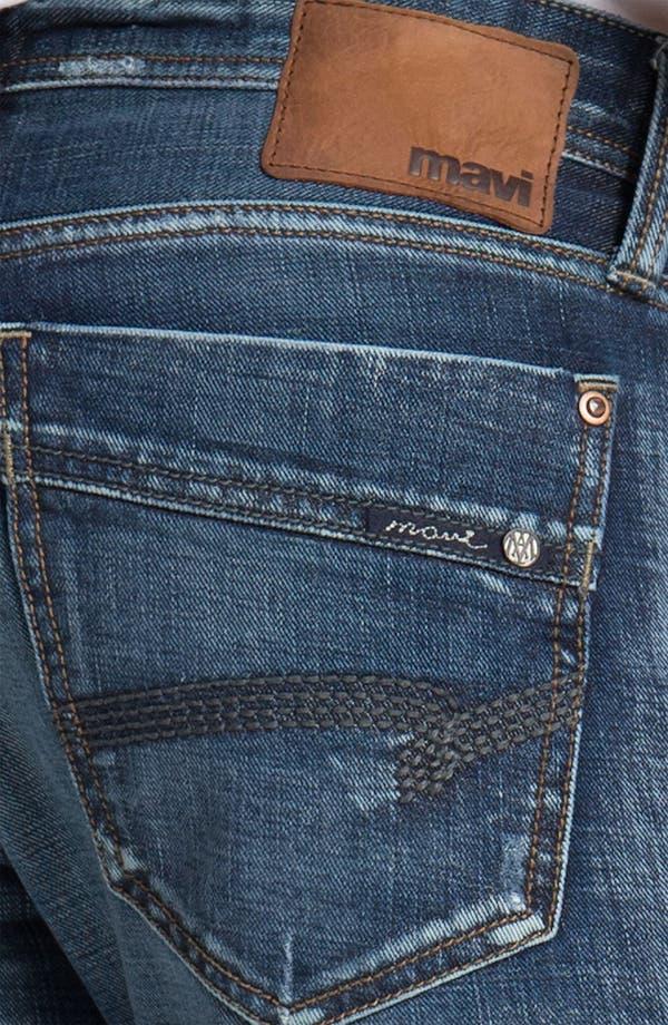 Alternate Image 4  - Mavi Jeans 'Josh' Bootcut Jeans (Dark American Cashmere)