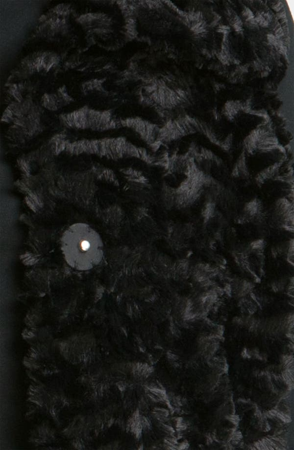 Alternate Image 4  - Gallery Crushed Faux Fur Vest (Plus)