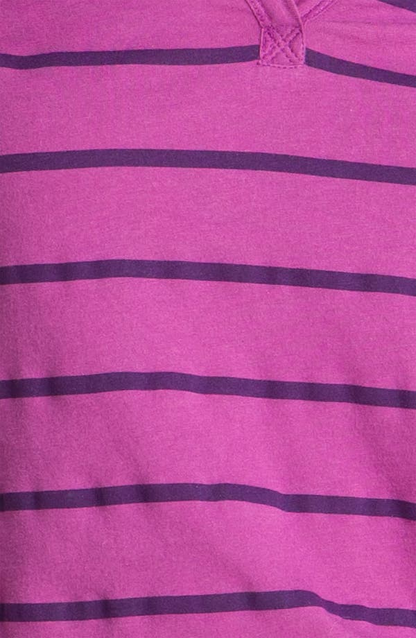 Alternate Image 3  - Caslon® Stripe Split Neck Tee