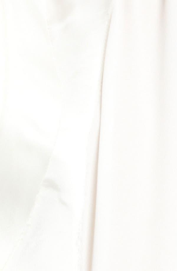 Alternate Image 3  - Donna Karan Collection Satin & Featherweight Crepe Blouse