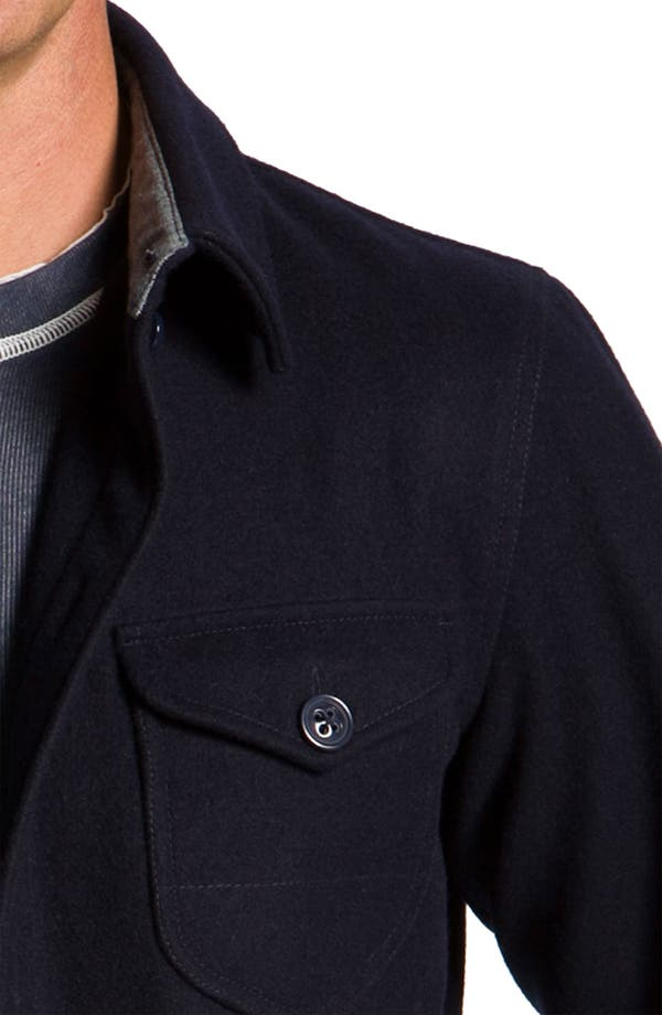 Alternate Image 3  - Façonnable 'CPO' Wool Blend Shirt Jacket