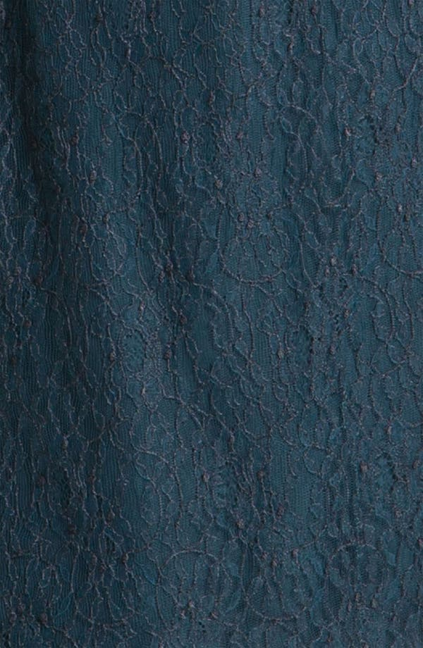 Alternate Image 3  - Shoshanna 'Minka' Long Sleeve Chantilly Lace Dress