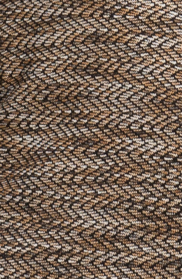 Alternate Image 3  - Maggy London Mixed Media Herringbone Shift Dress