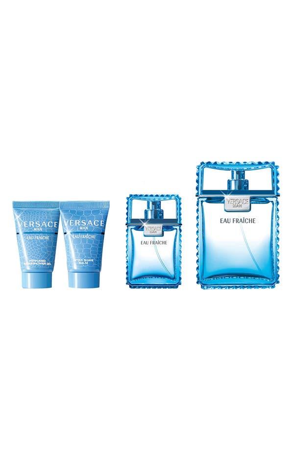 Main Image - Versace Man 'Eau Fraîche' Gift Set