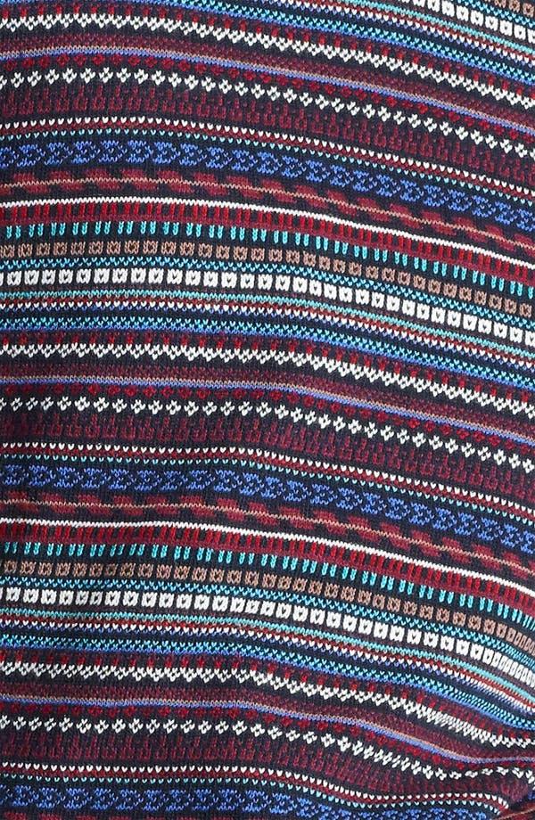 Alternate Image 3  - Topman Pattern Knit Crewneck Sweater