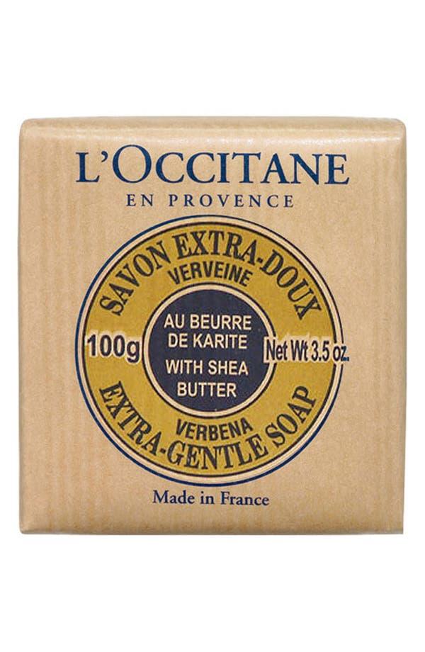 Alternate Image 1 Selected - L'Occitane 'Verbena' Shea Soap - Travel Size