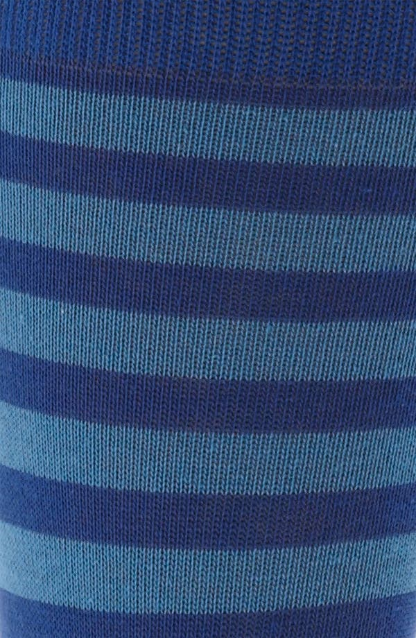 Alternate Image 2  - Lorenzo Uomo Rugby Stripe Socks