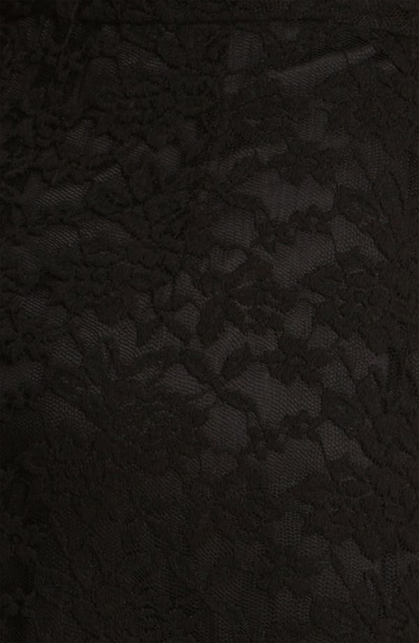 Alternate Image 3  - Calvin Klein V-Neck Lace Sheath Dress