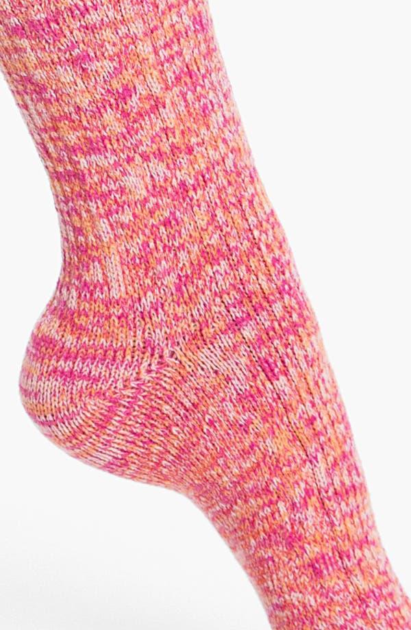 Alternate Image 2  - Make + Model 'Color Twist' Lounge Socks