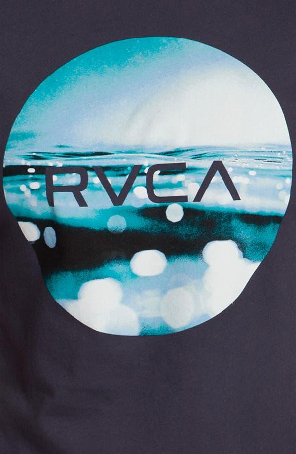 Alternate Image 3  - RVCA 'Upside Down Underwater' T-Shirt
