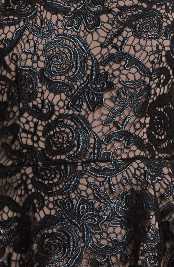 Alternate Image 3  - Tracy Reese Lace Peplum Dress