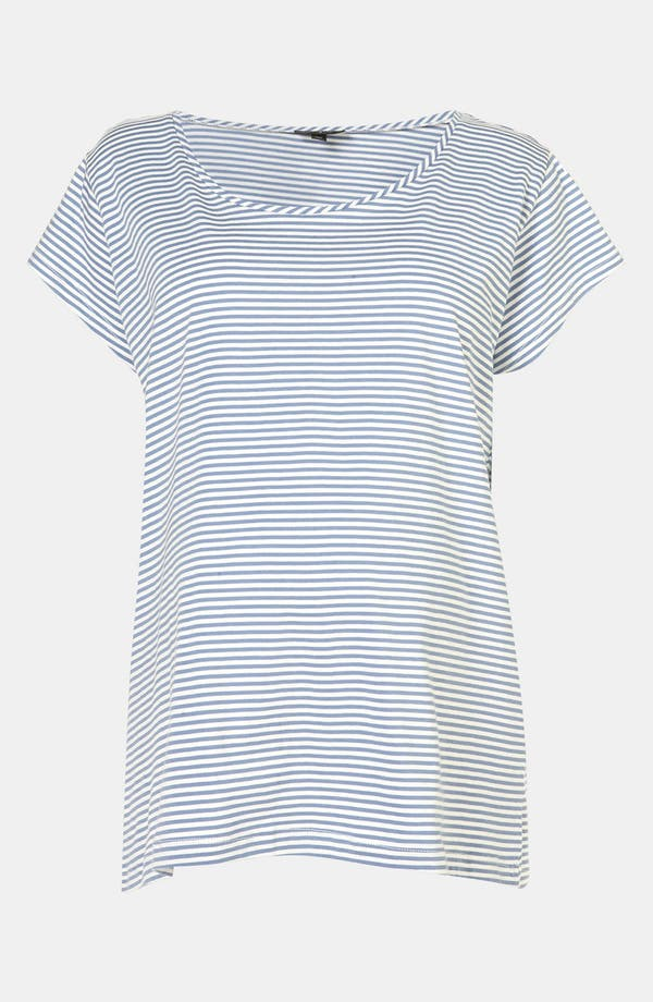 Alternate Image 1 Selected - Topshop Stripe Maternity Pajama Tee
