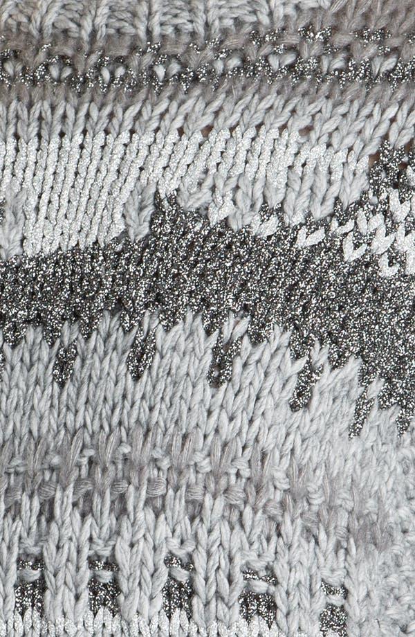 Alternate Image 3  - MICHAEL Michael Kors Textured Intarsia Sweater