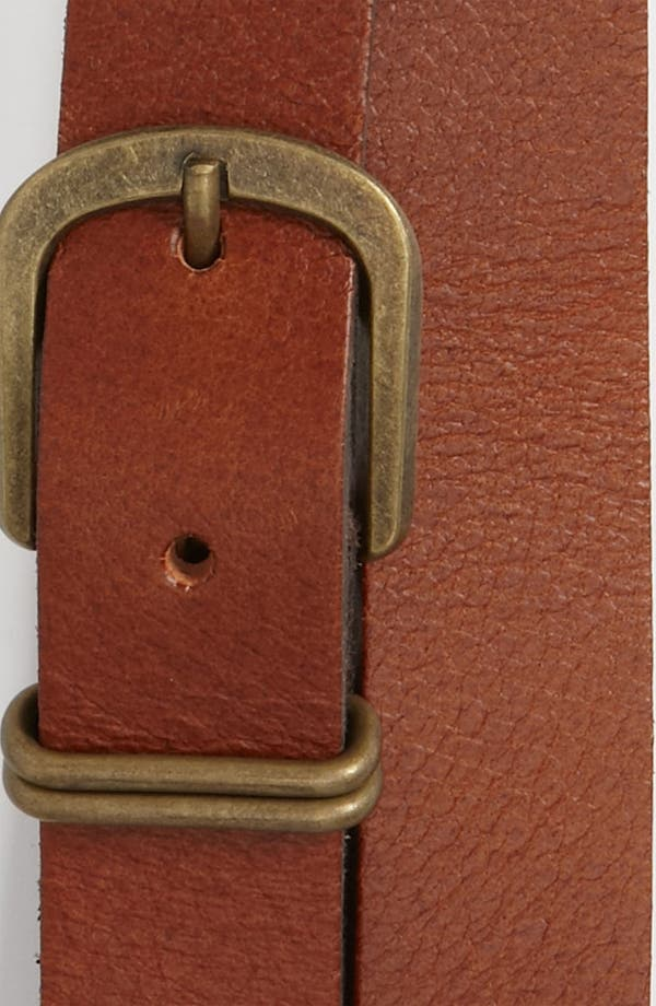 Alternate Image 2  - Topman 'Best Tom' Leather Belt
