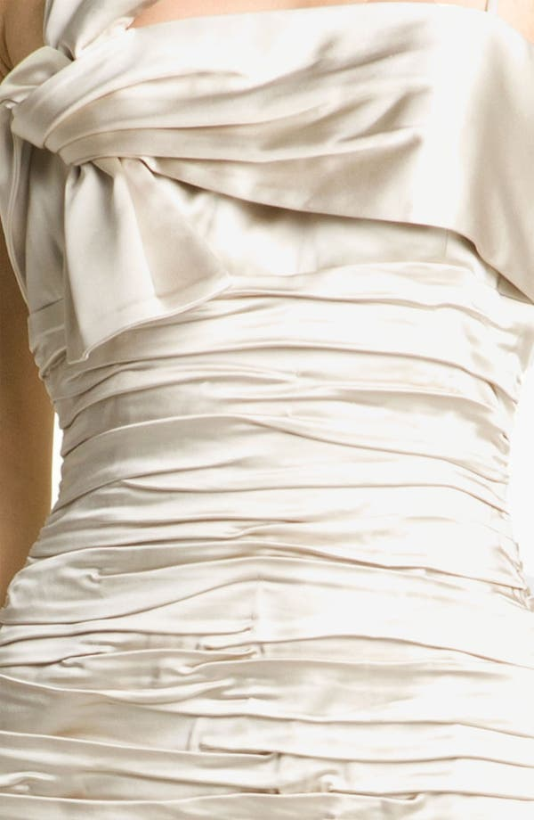 Alternate Image 3  - Calvin Klein Ruched Satin Sheath Dress