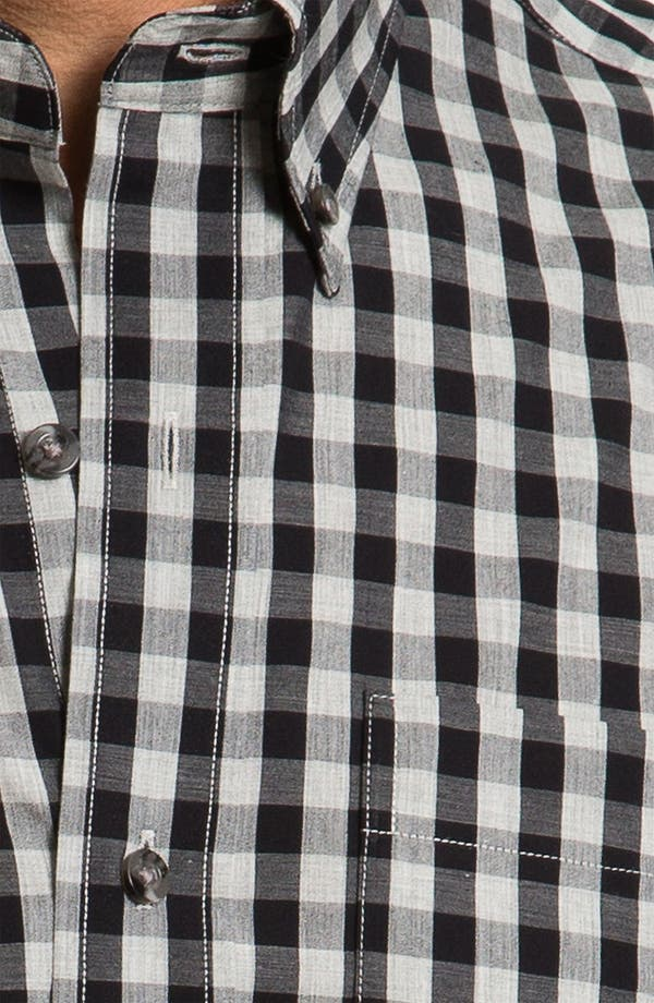 Alternate Image 3  - Cutter & Buck 'Tusk' Check Sport Shirt (Big & Tall)