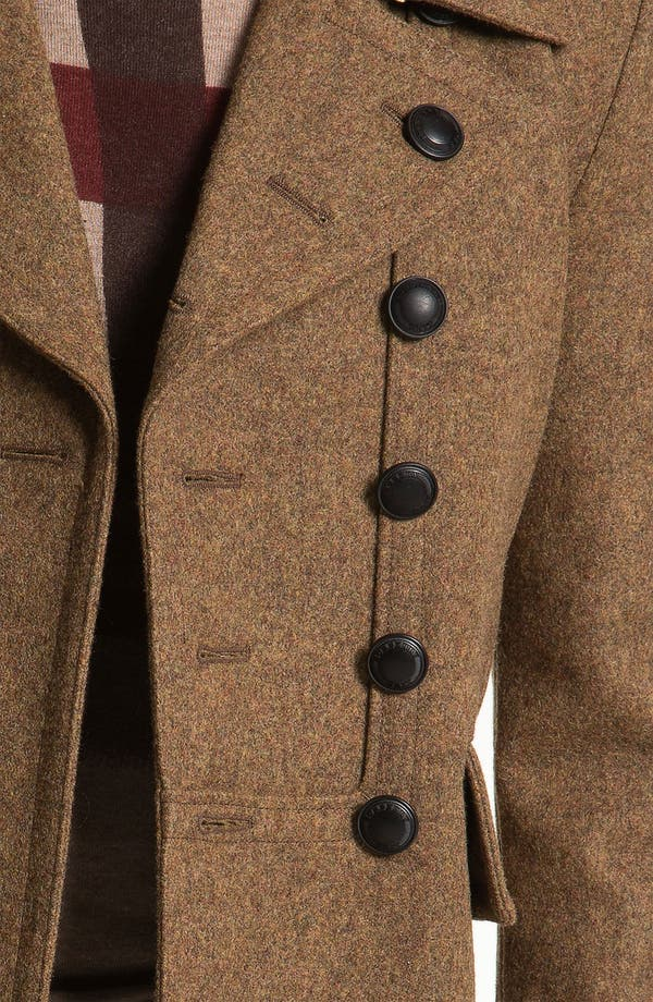 Alternate Image 3  - Burberry Brit Wool Blend Trench Coat