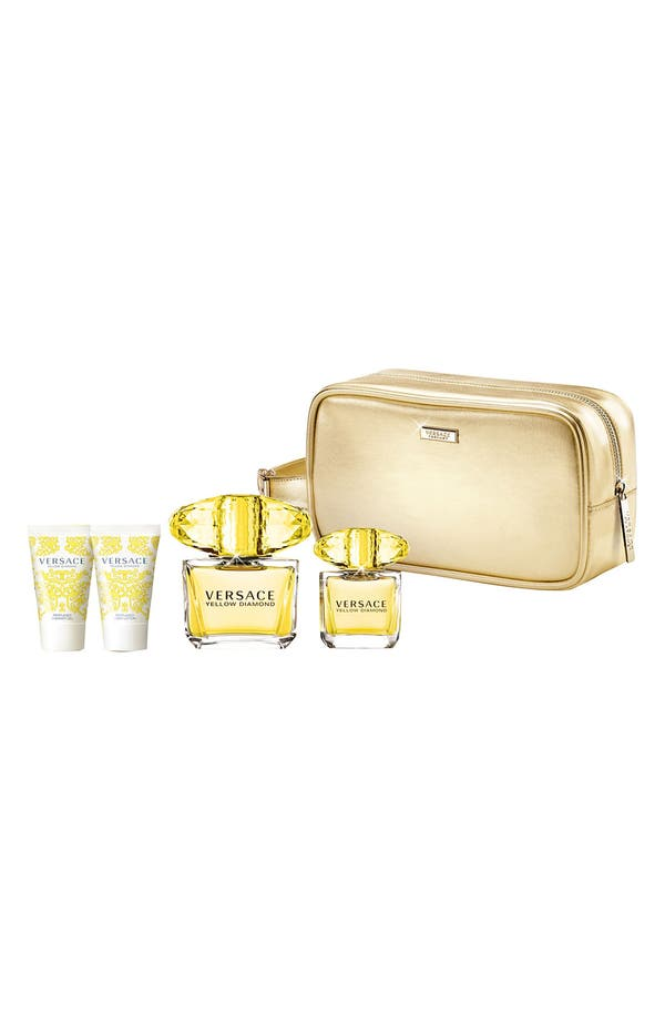 Alternate Image 2  - Versace 'Yellow Diamond' Deluxe Set