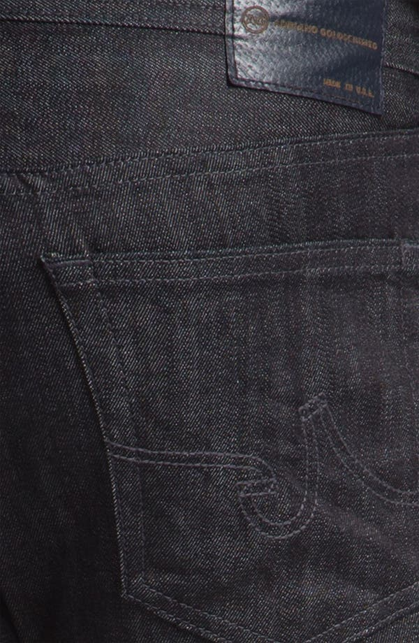 Alternate Image 4  - AG Jeans 'Matchbox' Slim Straight Leg Jeans (Baltic)(Save Now through 12/9)