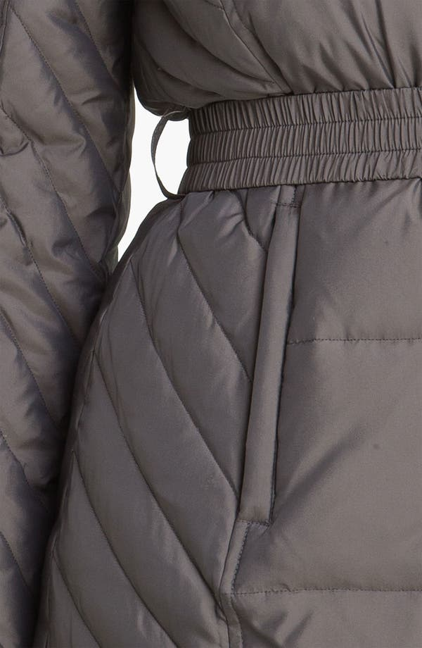 Alternate Image 3  - Gallery Quilted Coat with Detachable Hood (Petite)