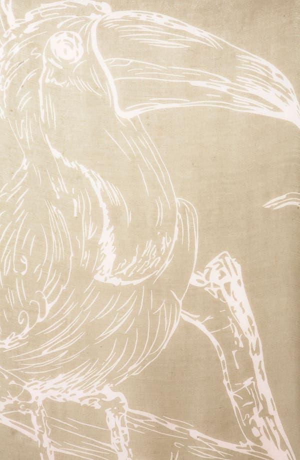 Alternate Image 2  - Topshop 'Toucan' Print Scarf