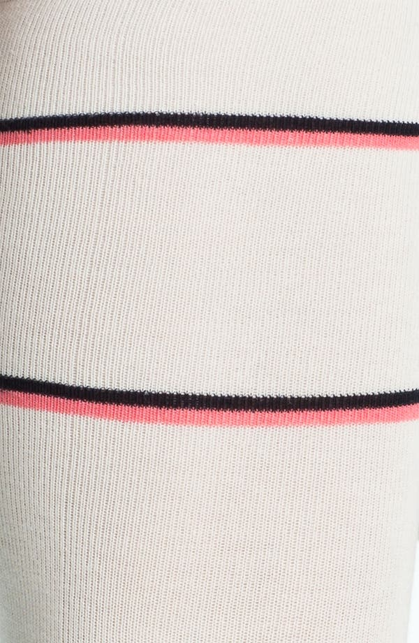 Alternate Image 2  - kate spade new york 'repp stripe' knee highs