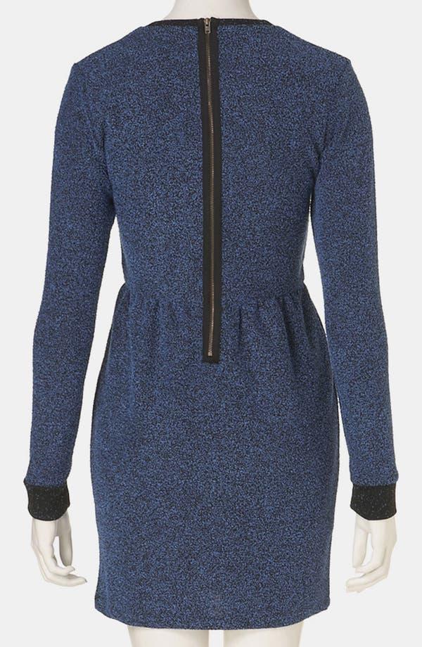 Alternate Image 2  - Topshop Mélange Knit Dress