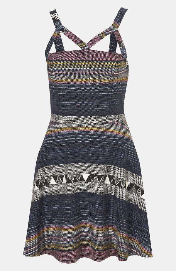 Alternate Image 1 Selected - Topshop Baja Harness Dress