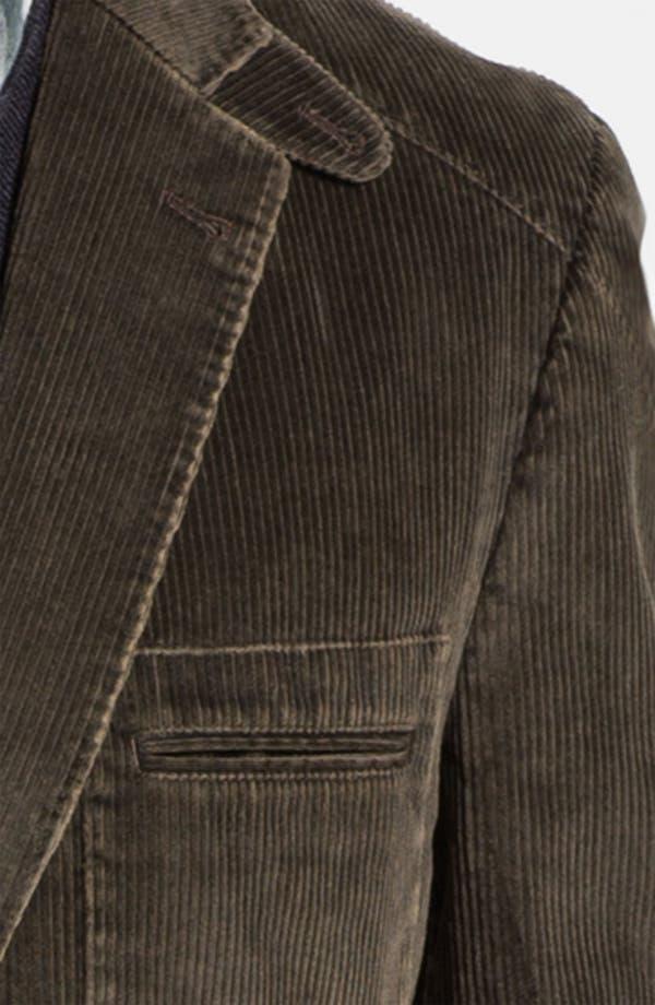 Alternate Image 3  - Kroon 'Matthews' Washed Corduroy Sportcoat