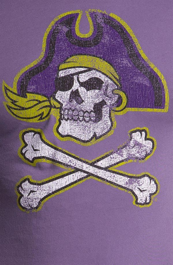 Alternate Image 3  - The Original Retro Brand 'East Carolina College' T-Shirt