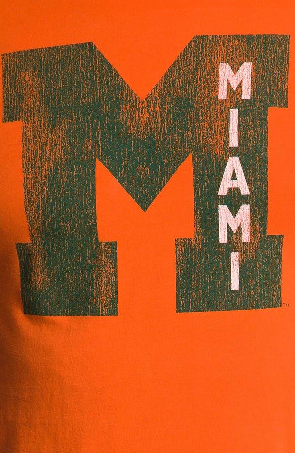 Alternate Image 3  - Retro Brand 'Miami Hurricanes' T-Shirt