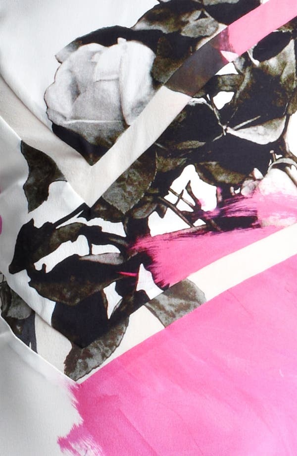 Alternate Image 3  - Christopher Kane Print Flounce Hem Dress