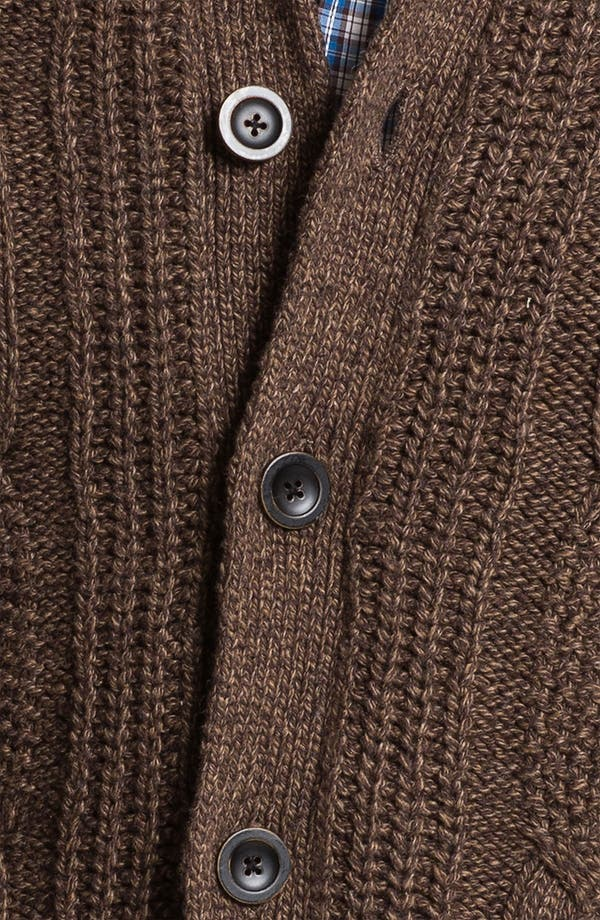 Alternate Image 3  - Ted Baker London 'Nonoise' Cable Knit Cardigan