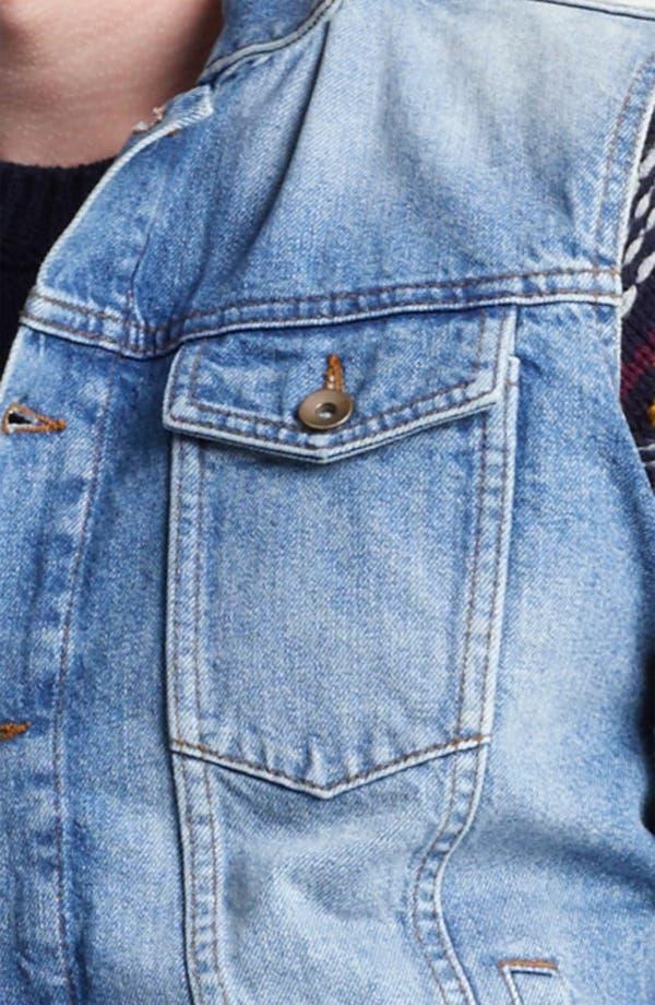Alternate Image 3  - Topman Denim Vest