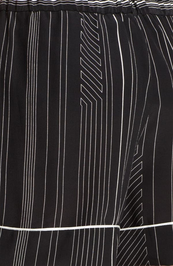 Alternate Image 3  - 3.1 Phillip Lim Stripe Silk Shorts