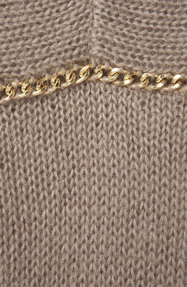 Alternate Image 3  - Topshop Chain Trim Sweater