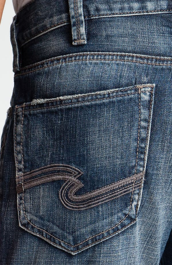Alternate Image 4  - Silver Jeans Co. 'Grayson' Relaxed Bootcut Jeans (Indigo)