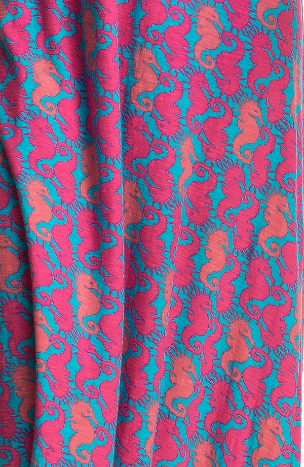 Alternate Image 3  - Lilly Pulitzer® 'Sloane' Seahorse Print Cotton Maxi Dress