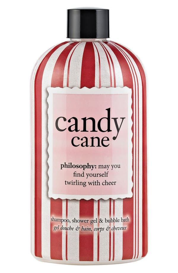 Main Image - philosophy 'candy cane' shampoo, shower gel & bubble bath
