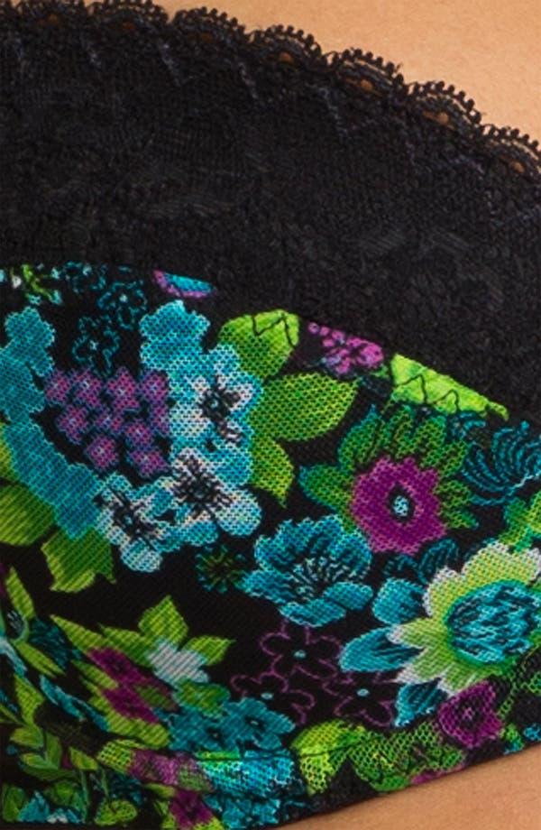 Alternate Image 3  - Betsey Johnson Mesh & Lace Underwire Demi Bra